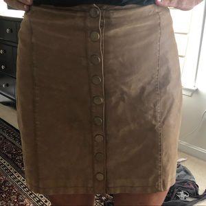Free people skirt sz8